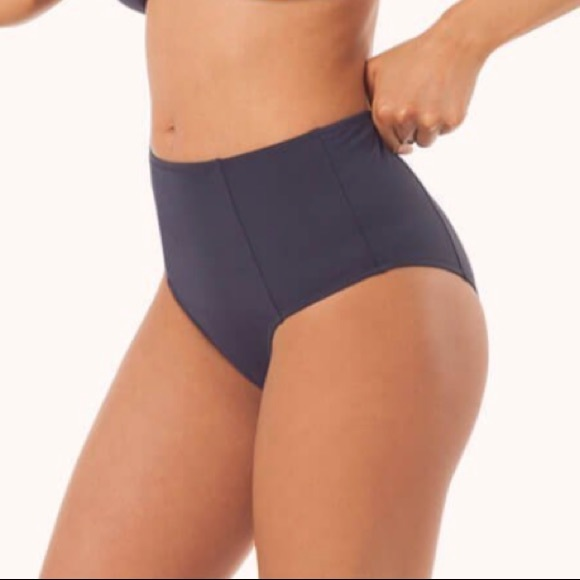 Lively Other - Lively The High Waist Swimsuit Bottoms - Navy